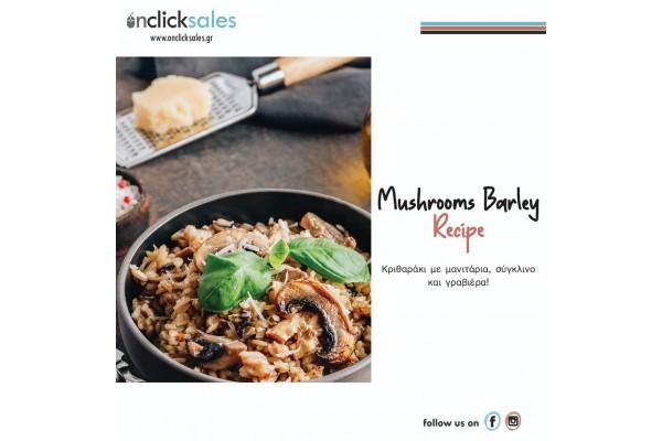 Mushrooms Barley Recipe