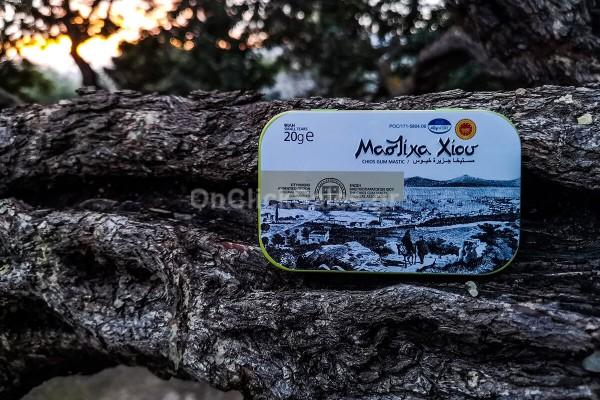 Μαστίχα Χίου Μικρό Δάκρυ - Μεταλλικό Φακελάκι Mastiha Shop 20γρ