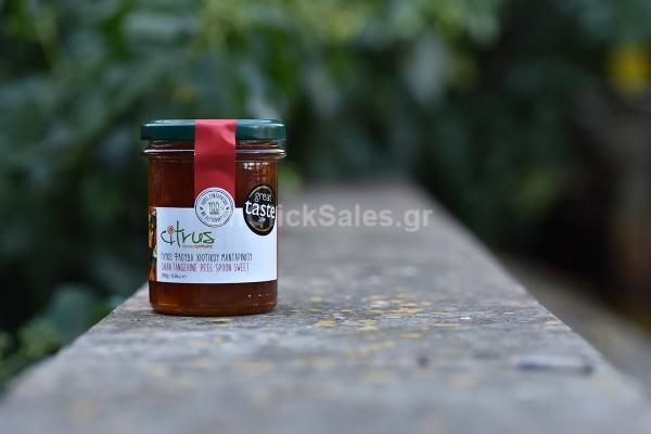 Γλυκό του Κουταλιού Φλούδα Χιώτικου Μανταρινιού Citrus 250γρ