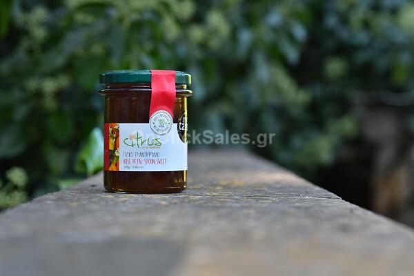 Γλυκό του Κουταλιού Τριαντάφυλλο Citrus 250γρ