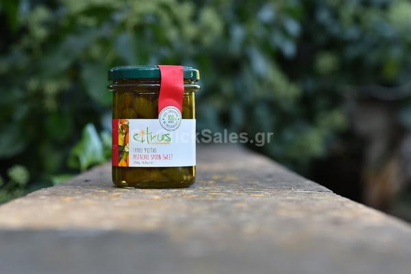 Γλυκό του Κουταλιού Φιστίκι Citrus 250γρ