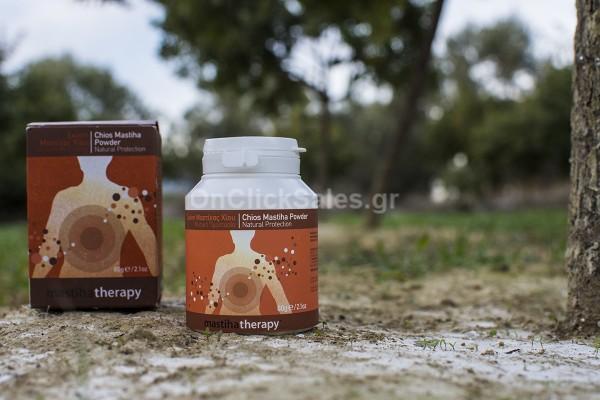 Σκόνη Μαστίχας Χίου Συμπλήρωμα Διατροφής Mastiha Shop 60γρ