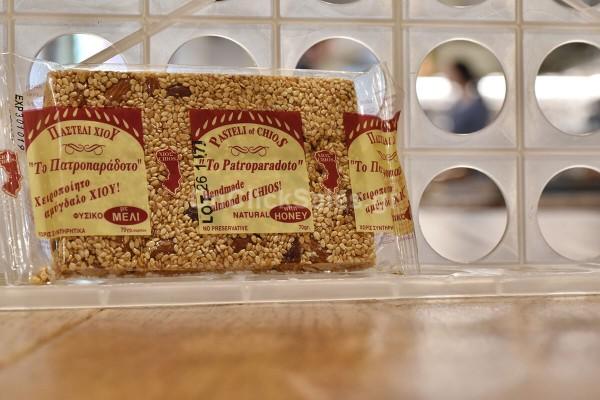Παστέλι Αμύγδαλο με Μέλι Το Πατροπαράδοτο 70γρ