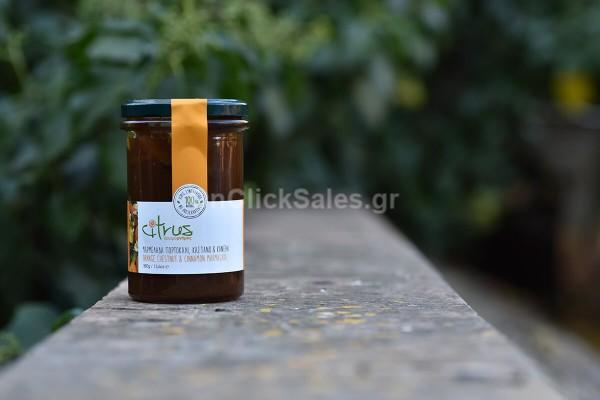 Μαρμελάδα Πορτοκάλι Κάστανο Κανέλα Citrus 380γρ