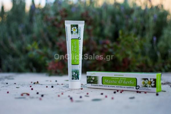 Οδοντόκρεμα Μastic & herbs με Μαστίχα και Χαμομήλι Άνεμος 75ml