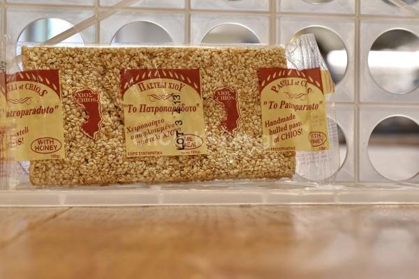 Παστέλι Σισάμι Αποφλοιωμένο με Μέλι Το Πατροπαράδοτο 100γρ