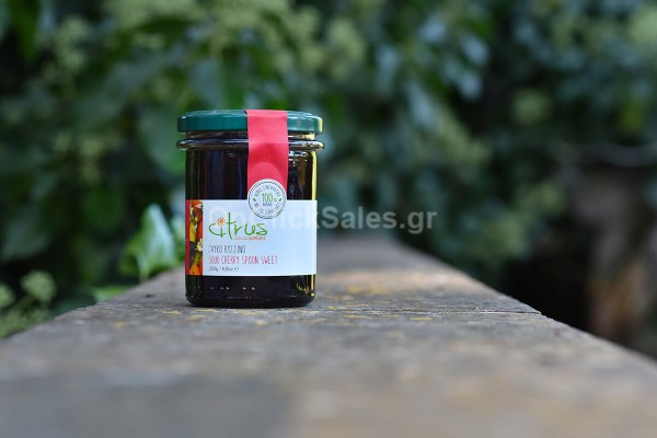 Γλυκό του Κουταλιού Βύσσινο Citrus 250γρ