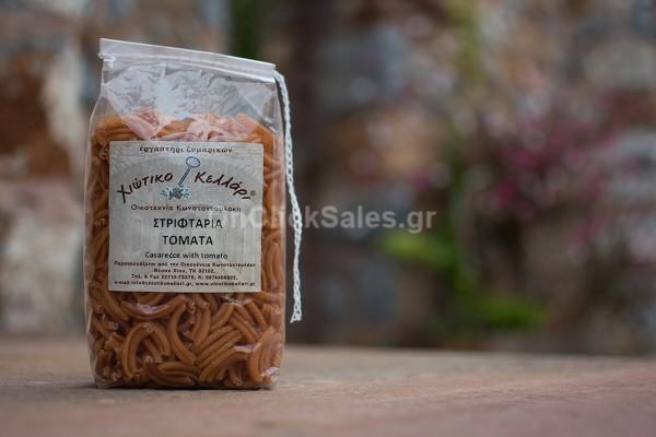 Ζυμαρικά Στριφτάρια Τομάτα Χιώτικο Κελλάρι 500γρ