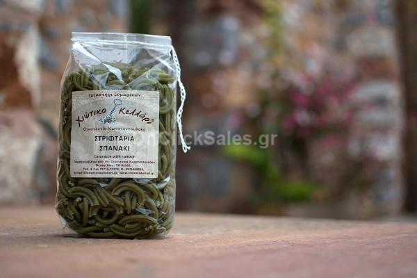 Ζυμαρικά Στριφτάρια Σπανάκι Χιώτικο Κελλάρι 500γρ