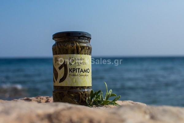 Βιολογικός Κρίταμος Myrovolos Organics 125γρ