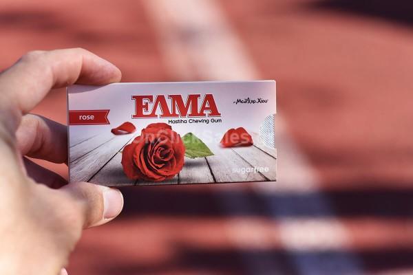 Τσίχλα ΕΛΜΑ Τριαντάφυλλο Mastiha Shop