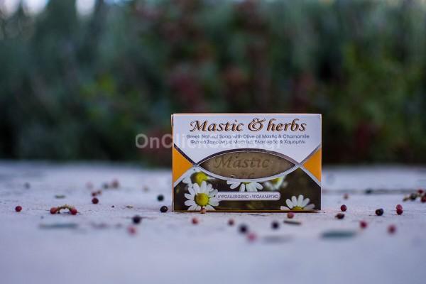Σαπούνι Mastic & Herbs με Μαστίχα & Χαμομήλι Άνεμος 125γρ