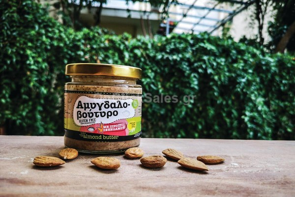 Άλλειμα Αμυγδαλοβούτυρο με σιρόπι σφενδάμου Ξενιά 200γρ