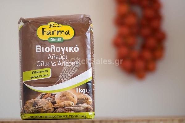 Biofarma Αλεύρι Ολικής Bio 1kg