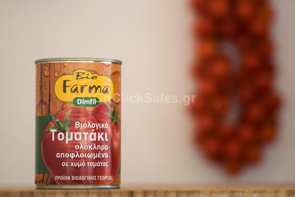 Biofarma Τοματάκι ολόκληρο Bio 400gr
