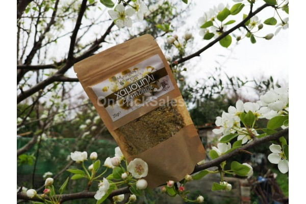 Βότανα Βιολογικό Χαμομήλι Myrovolos Organics 25γρ