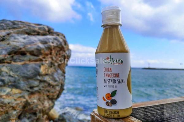 Μουστάρδα Χιώτικού Μανταρινιού Με Αρωμα Τρούφας 290γρ Citrus
