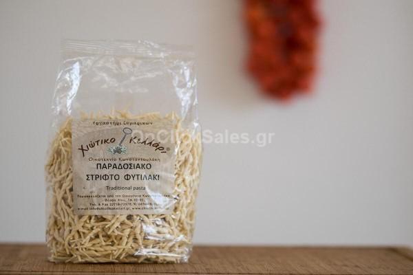 Ζυμαρικά Παραοσιακό Στριφτό Φυτιλάκι Χιώτικο Κελλάρι 500γρ