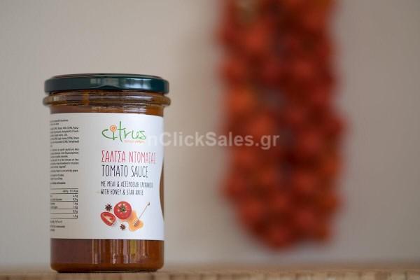 Σάλτσα τομάτας με μέλι & αστεροειδή γλυκάνισο