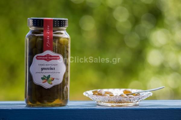 Γλυκό του Κουταλιού Φιστίκι Κοράκη Βάζο 950γρ