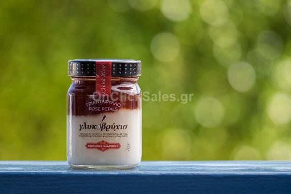 Γλυκό Υποβρύχιο Τριαντάφυλλο Κοράκη Βάζο 450γρ
