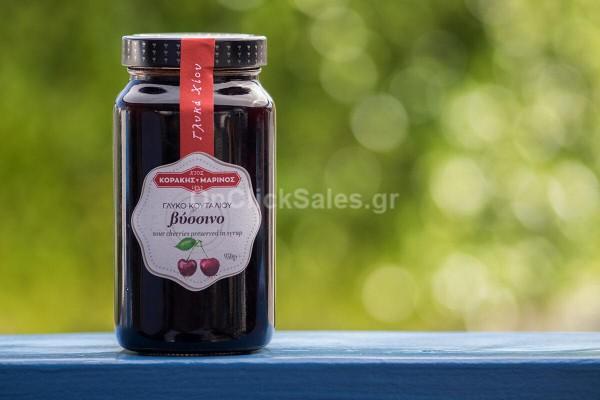 Γλυκό του Κουταλιού Βύσσινο Κοράκης- Μαρίνος 950γρ