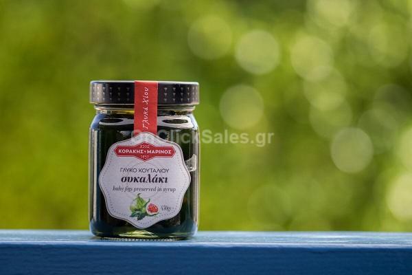 Γλυκό του Κουταλιού Σύκο Κοράκης Μαρίνος 450γρ