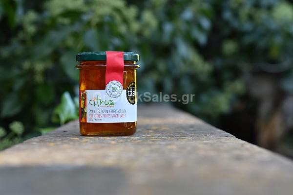 Γλυκό του Κουταλιού Τέσσερα Εσπεριδοειδή Citrus 250γρ