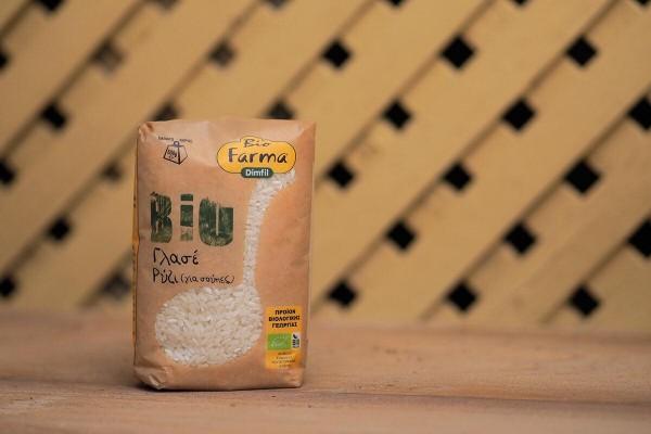 Biofarma Ρύζι Γλασέ Bio 500gr