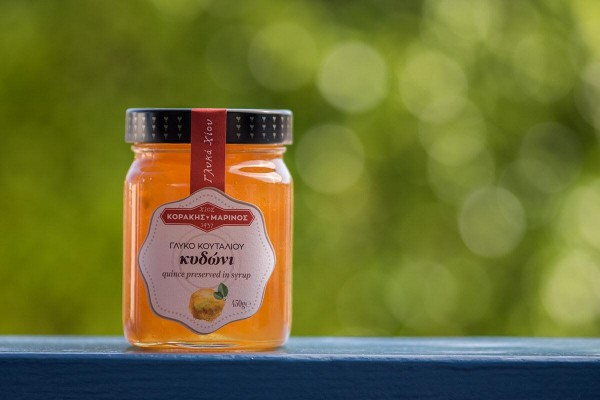 Γλυκό του Κουταλιού Κυδώνι Κοράκης- Μαρίνος 450γρ