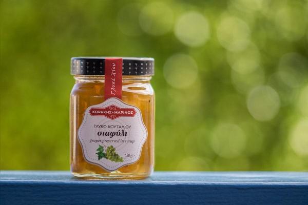 Γλυκό του Κουταλιού Σταφύλι Κοράκης- Μαρίνος 450γρ